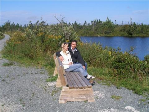 Guests Enjoying the Trans Canada Trail - Three Fathom Harbour