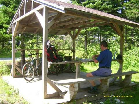 Guest Having a Picnic - Trans Canada Trail